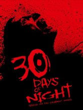 30 Days Of Night poster work