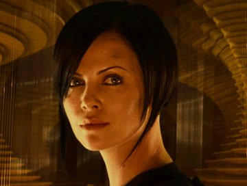 Charlize Theron as Aeon Flux