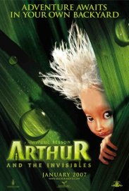 Arthur and the Invisibles poster work