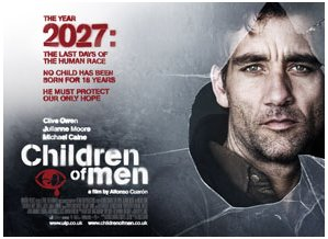 Children of Men poster work