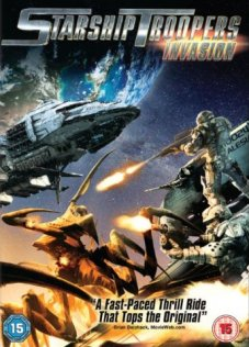 Starship Troopers:Invasion box art