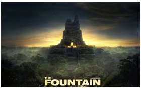 The Fountain poster work