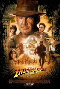 Indiana Jones and the kingdom of the crystal skull poster work