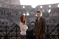 David and Millie in Rome