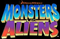 The Monsters vs Aliens logo.