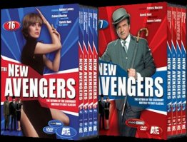 New Avengers DVD Box