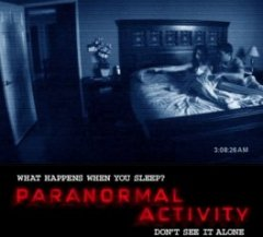 Paranormal Activity poster work