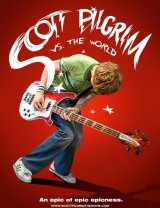 Scott Pilgrim Vs The World poster work