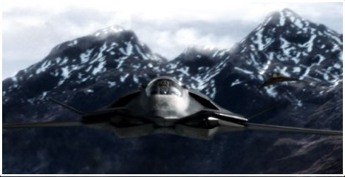 The STEALTH plane