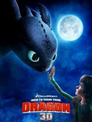 How to train your dragon poster work