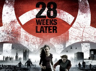 28 Weeks Later poster work